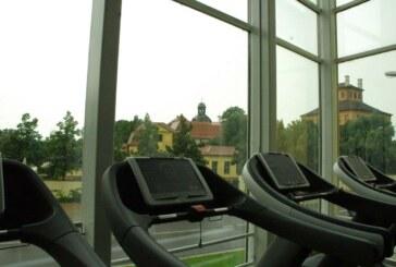 Fitness mit Aussicht.