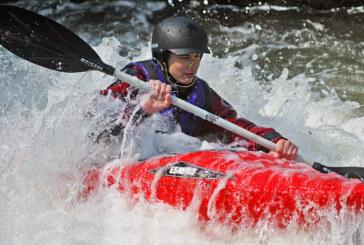 Toller Sport am Neumühlenwehr im Juni