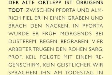 14. Juni/13:00/Moritzburg: Ernst Ortlepp zum 150. Todestag
