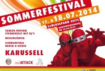 17./18.7/Schlosspark: Sommerfestival.
