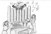 Die Orgelmaus ist zu Besuch in Zeitz
