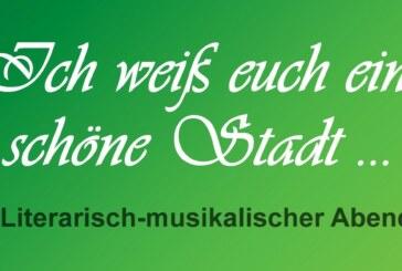 25.9./18:30/CJD Festsaal: Musikalisch-literarischer Abend