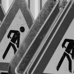 Behinderungen Schlossstraße