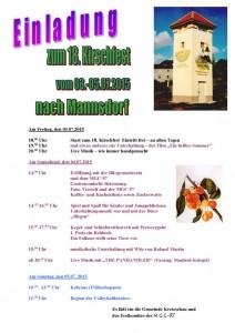 Kirschfest Plakat ldaen