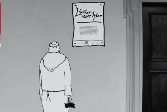 """""""Luther war hier!""""..und hier…und hier!"""