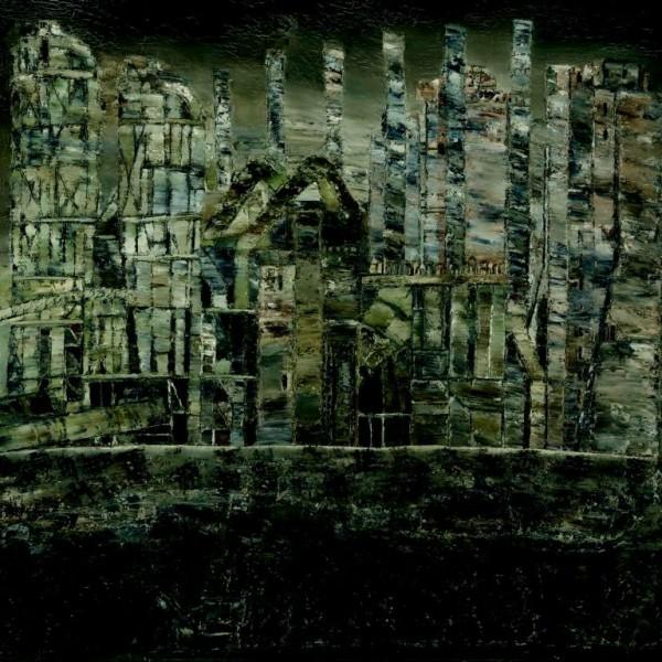 Zementwerk Karsdorf, Öl auf Hartfaser, 1982
