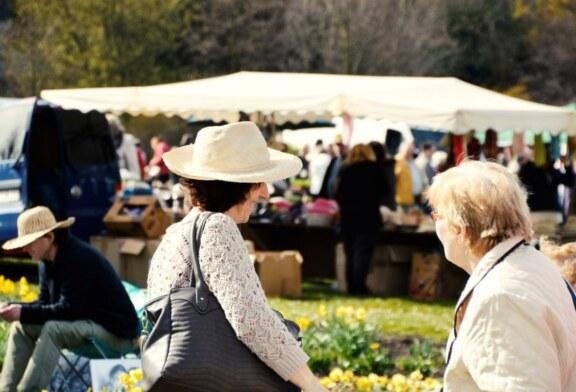 Beim Zeitzer Frühlingsmarkt umgesehen