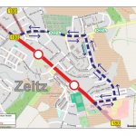 Geußnitzer Straße, Sanierung im Oktober