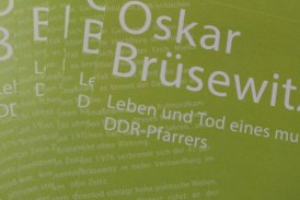 Oskar Brüsewitz. Lesung mit Freya Klier