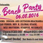 6. Beachparty Kleinosida