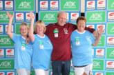Eintracht bei Eintracht: chices Outfit