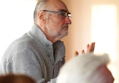 Roland Rittig wirbt den Erhalt der Triennale