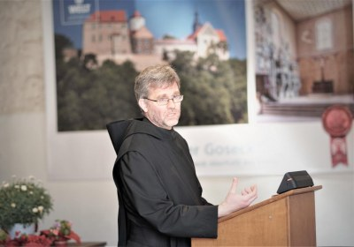 Gute Rede des Benediktiners