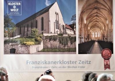 Mittendrin, Werbung für das Franziskanerkloster