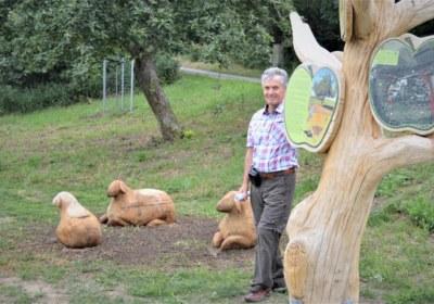 Rainer Helms ins Sachen Naturschutz stets unterwegs