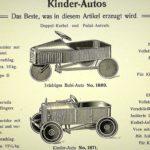 """""""Bubirad und Sausewind"""" Sonderausstellung Kinderfahrzeuge E.A. NEATHER"""