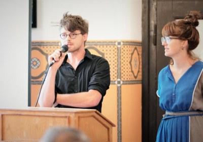 Nina Rüb und Philipp Baumgarten