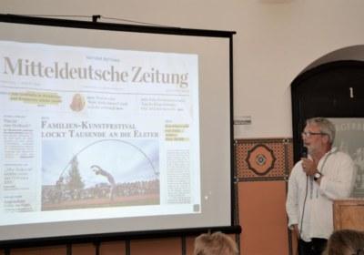 Ralf Wagener mit MZ Ausgabe August 2020