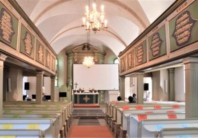 St. Petri vor dem Gottesdienst