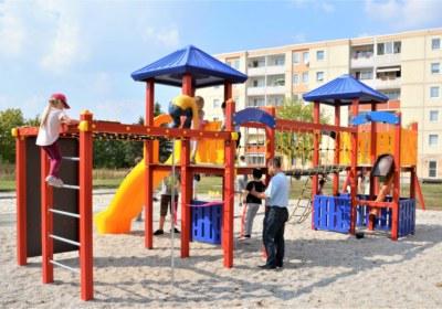 schöner Tummeplatz für Kinder