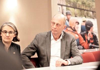 Minister Wolfgang Tiefensee sagt seine Unterstützung zu