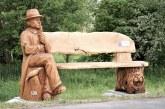 Holzkunst am Elsterradweg gestohlen