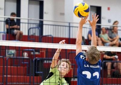 Titel Volleyball