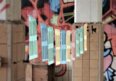 noch jungrfäulich-handgeschöpftes papier