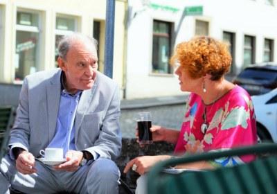 Mendl und Kostina im Gespräch