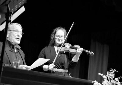 Stimme und Violine perfekt im Duett