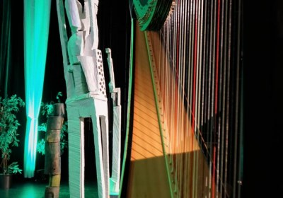 die Harfe und die Kunst