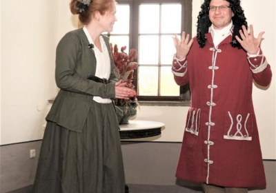 Agnes und Johann immer mit flottem Spruch