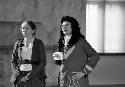 Agnes von Pflug und Johann Theile