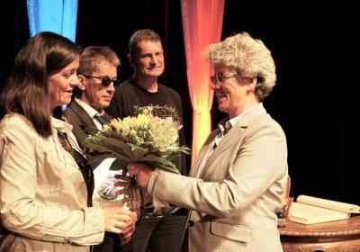 Blumen Frau Drescher