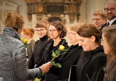 Blumen für das Ensemble