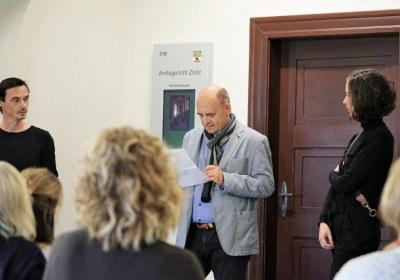Ernst-Wilhelm Schulze eröffnet