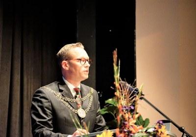 OB bei der Ansprache