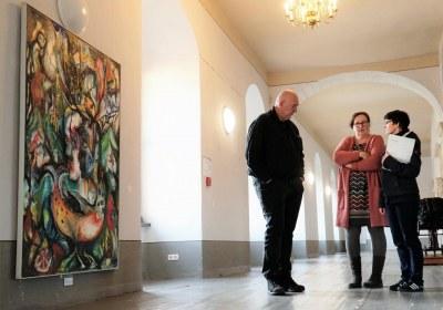 Museumsmenschen und Torsten Russ