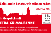 Ministerin im Dialog: Petra Grimm-Benne