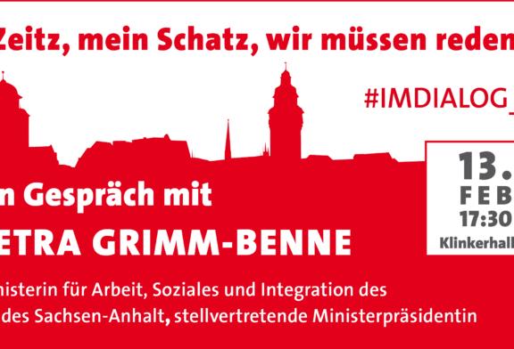 Ministerin im Dialog: Petra Grimm-Benne