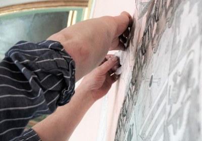 Des Künstlers Hände