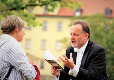 Andreas Binder rezitiert Else Lasker-Schüler