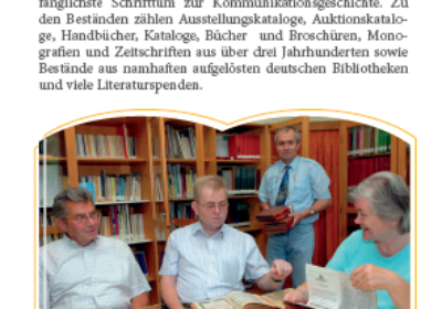 Bibliotheken und Kooperationspartner8