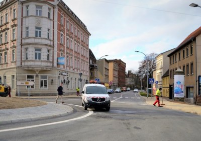 Blick i.R. Geschwister-Scholl-Strasse (c) Stadt Zeitz