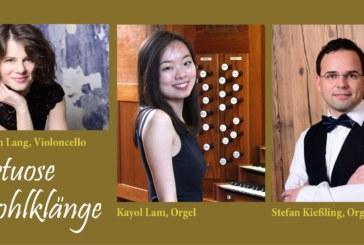 Konzert für zwei Orgeln und Violoncello