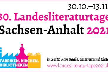 Landesliteraturtage Sachsen-Anhalt 2021
