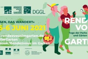 """Rendezvous im Garten"" Schlosspark Zeitz"