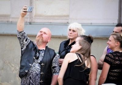 schnell noch ein Selfie